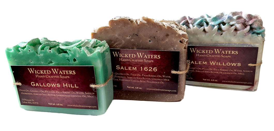 Salem Witch Handmade Soaps - by Wicked Waters Soaps