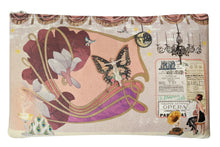Load image into Gallery viewer, The Roaring 20s Zipper Pouch - 100% Organic Cotton!