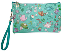 Load image into Gallery viewer, Tea Bag Wristlet/Pouch
