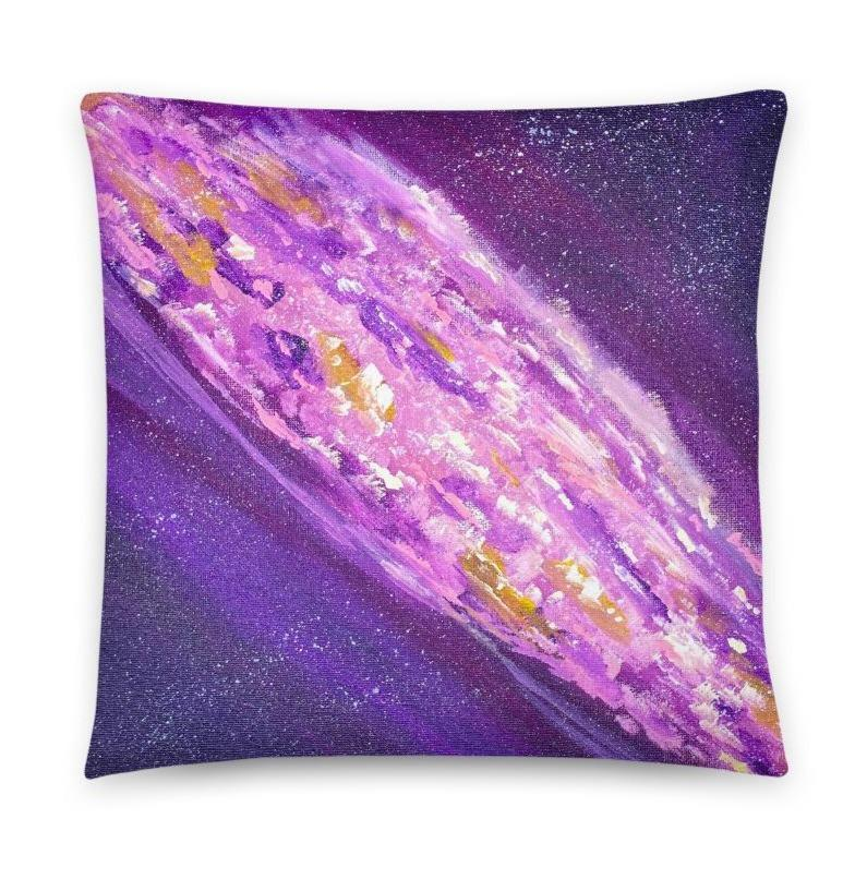 Galaxy Space Art Decorative Throw Pillow