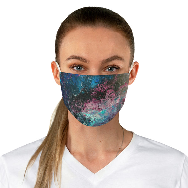 Space, Galaxies and Stars Fabric Face Mask