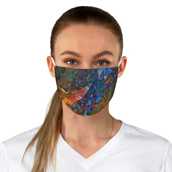 Rainbow Colors Fabric Face Mask
