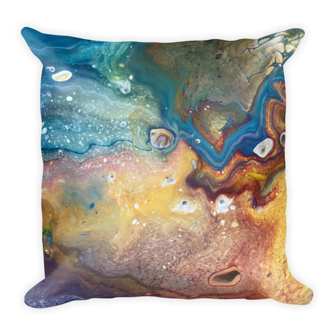Earthy Decorative Throw Pillow