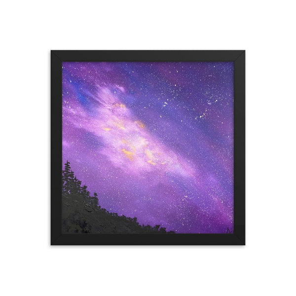Northwest beauty framed art print - fantasy landscape art