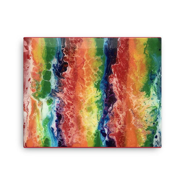 LGBTQ Art Print on Canvas
