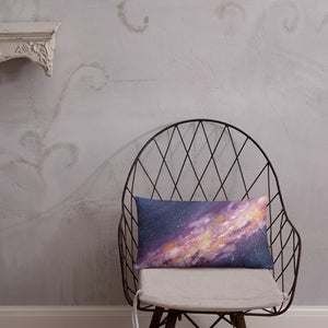Decorative Pillow Starburst Galaxy Milky Way Thow Pillow