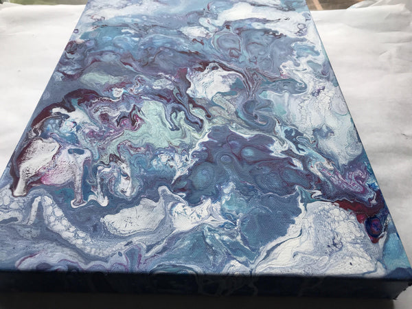 Original Acrylic Painting - Fluid / Abstract Art