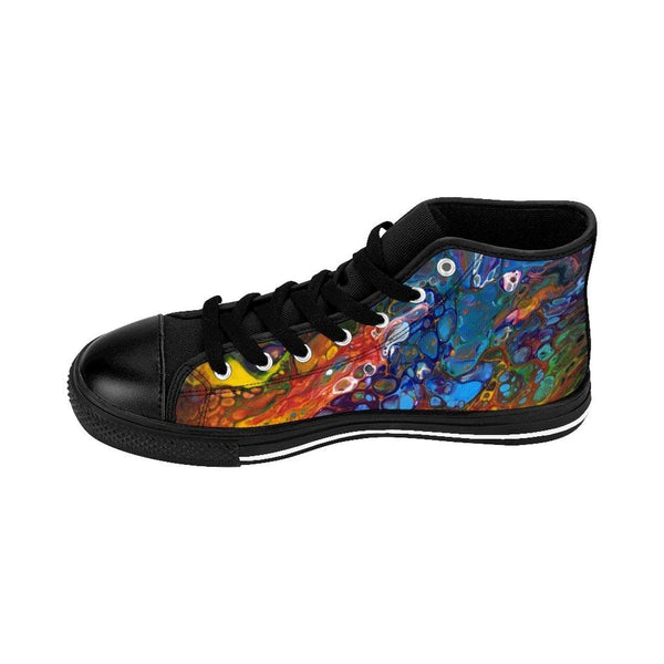 Rainbow Flag Women's High-top Sneakers Runners