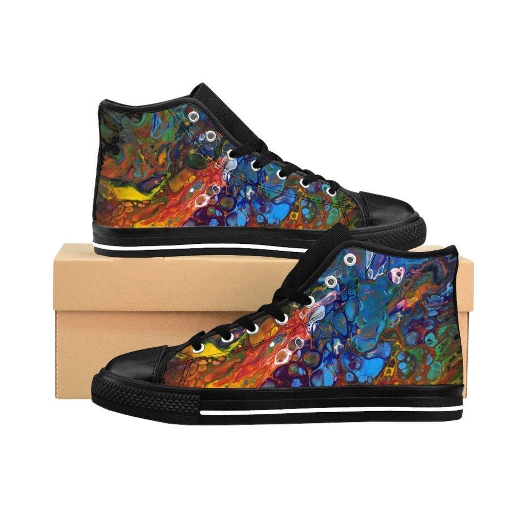 Rainbow Men's High-top Sneakers Runners