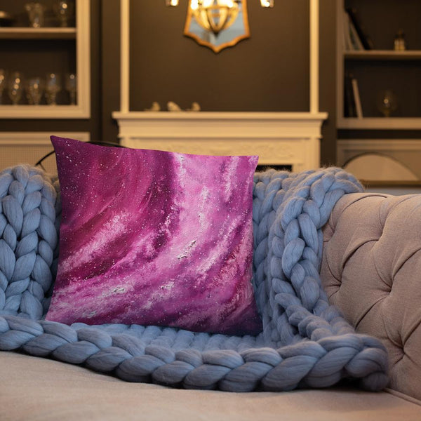 Space Galaxy Art Decorative Pillow