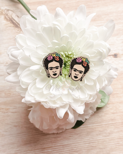 Frida Kahlo Stud Earrings