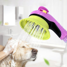 Load image into Gallery viewer, Pet Sprayer Puppy Dogs Cats Wash Grooming Bathing Massage Brush Handheld Shower 5 Color Drop Shipping