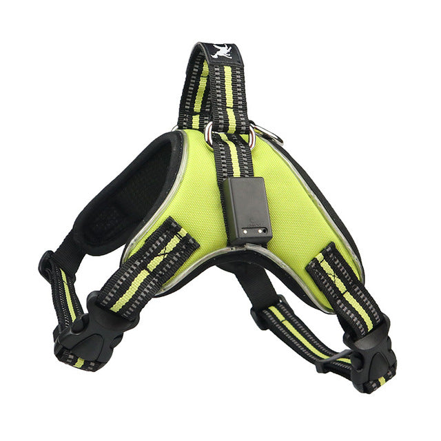 Rechargeable LED Nylon Pet Harness