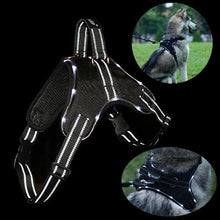 Load image into Gallery viewer, Rechargeable LED Nylon Pet Harness