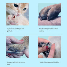 Load image into Gallery viewer, Professional Pet Nail Clipper Grooming Scissors