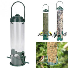 Load image into Gallery viewer, Hanging Plastic Outdoor Bird Feeder