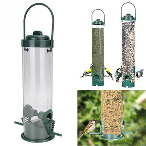 Hanging Plastic Outdoor Bird Feeder