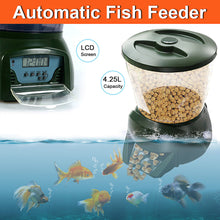 Load image into Gallery viewer, Automatic Aquarium Feeder for Fish Tank