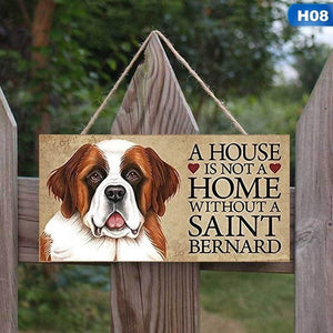 Pet Dog Hanging Plaque For Dog Lovers