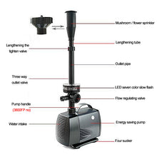 Load image into Gallery viewer, LED Flashing Light Submersible Fountain Water Pump