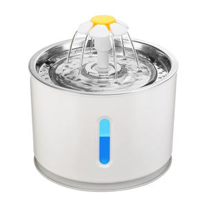 Automatic LED Water Fountain Bowl