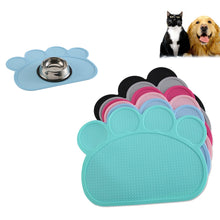 Load image into Gallery viewer, Silicone Pet Feeding Mat