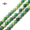 "Natural Chrysoprase Matte Round Beads 4mm 6mm 8mm 10mm 15.5"" Strand"
