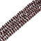 Garnet Pebble Nugget Slice Chips Beads Size 7-8mm 15.5'' per Strand