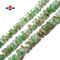 "Chrysoprase Rough Irregular Slice Rondelle Discs Beads 12-15mm 15.5"" Strand"