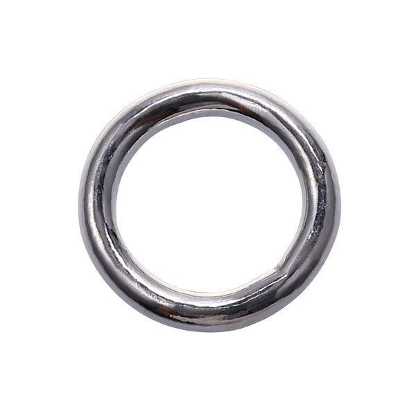 925 Sterling Silver Jump Ring Size 6mm 10 pcs