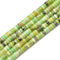 Chinese Chrysoprase Heishi Rondelle Discs Beads Size 2x4mm 15.5'' per Strand