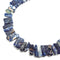 sodalite slice Sticks piano key Points beads