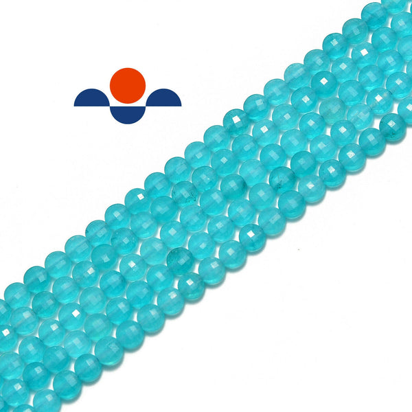 amazonite faceted shape beads