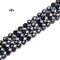 Natural Iolite Faceted Off Round Beads Size 6mm 15.5'' Strand