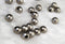 large hole antique silver plated base bronze beads