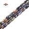 "Orange Sodalite Faceted Teardrop Beads Size 6x16mm 15.5"" Strand"