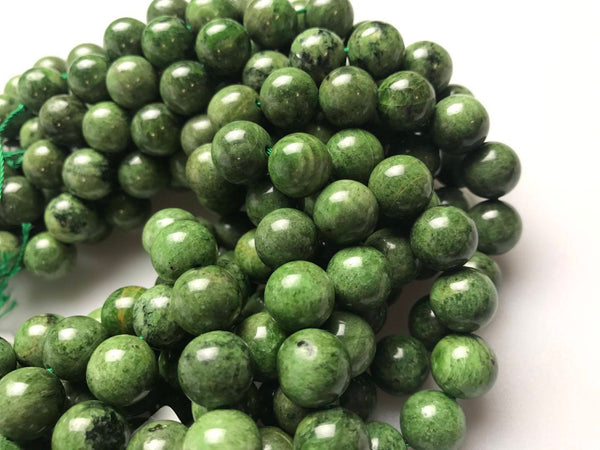 diopside smooth round beads