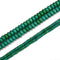 Green Howlite Turquoise Smooth Rondelle Beads Size 3x5mm 6x10mm 15.5'' Strand