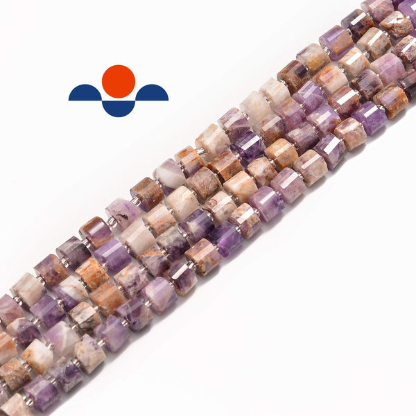 charoite faceted rondelle wheel Discs beads