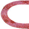 Gradient Garnet Faceted Round Beads Size 2.2mm 15.5'' Strand