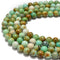 chrysoprase smooth round beads