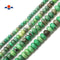 "Natural Chrysoprase Faceted Rondelle Beads 4x6mm 5x8mm 6x10mm 15.5"" Strand"