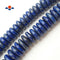 "Lapis Lazuli Smooth Large Rondelle Beads 6x18mm 6x20mm 15.5"" Strand"