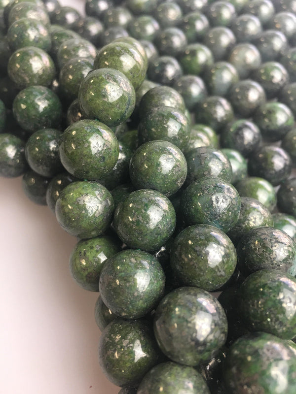 chrysoberyl smooth round beads