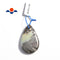 multi color amazonite pendant teardrop or irregular shape