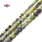 "Light Green Chrysoprase Matte Round Beads 6mm 8mm 10mm 15.5"" Strand"