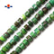 "Chrysoprase Faceted Rondelle Wheel Discs Beads Approx 7x9mm 15.5"" Strand"