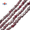 "Natural Garnet Irregular Arrow Shape Beads Size Approx 5x7mm 14"" Strand"