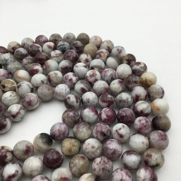 natural eudialyte smooth round beads
