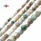 "Natural Multi-Color Opal Smooth Round Beads 6mm 8mm 10mm 15.5"" Strand"